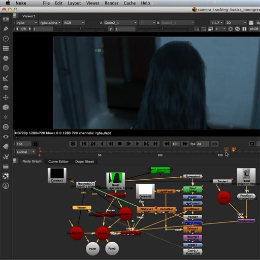Compositing e VFX in NUKE